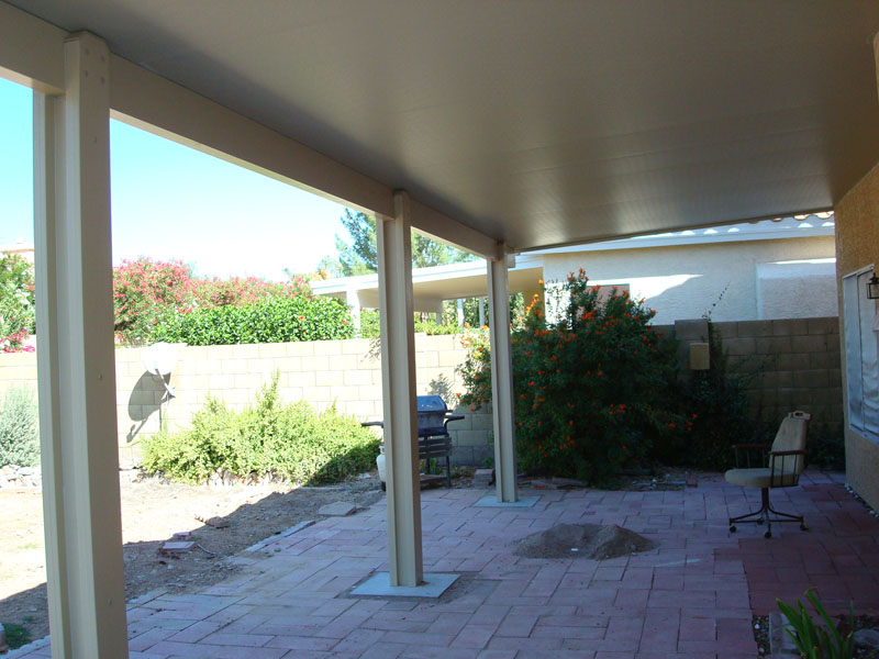 Patio Roof Cover With Insulated Aluminum Panels Scottsdale Az