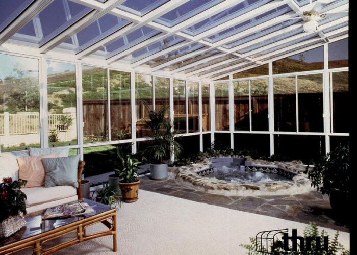 Home arizona enclosures and sunrooms for Sunroom roofs