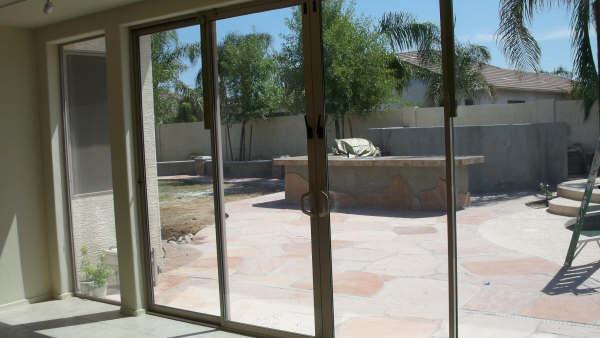 Enclosed Your Patio With Sliding Glass Dooors Arizona