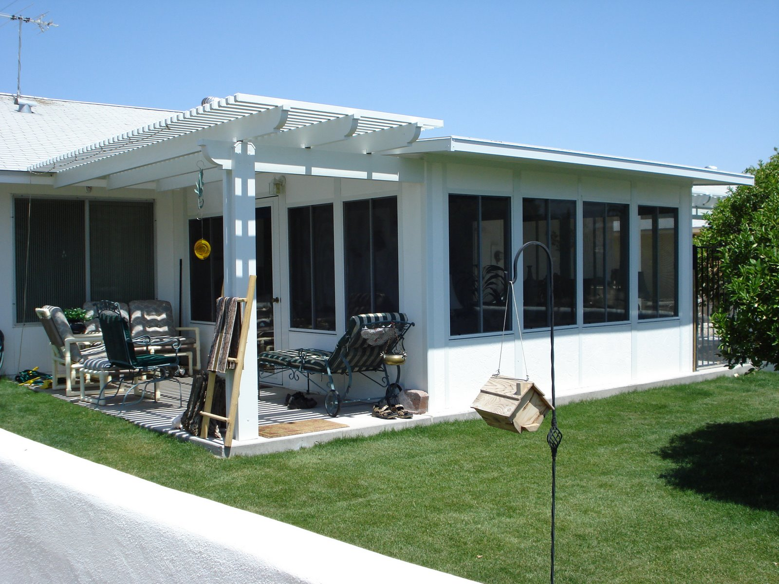 Modular sunroom in sun city arizona arizona enclosures for Modular sunroom