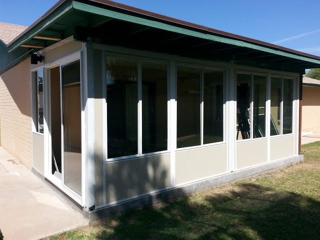 Modular sunroom arizona enclosures and sunrooms for Modular sunroom