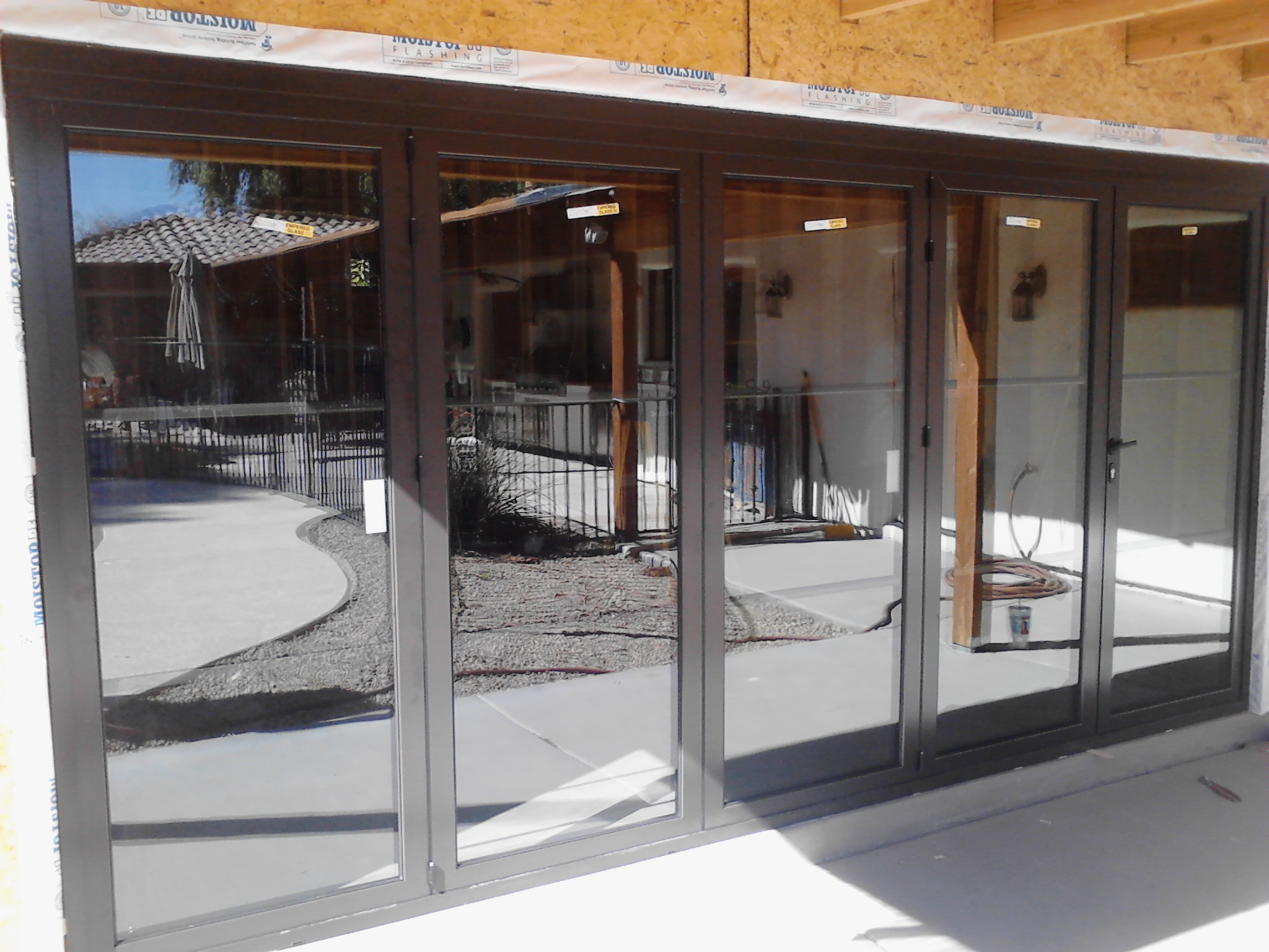 Creating Sun Room Enclosure With Sliding Glass Doors Arizona